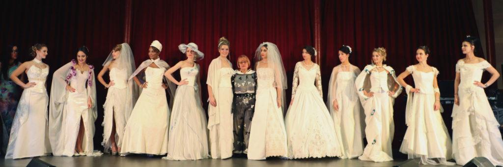 Vente de robes de mariées portés par les Miss